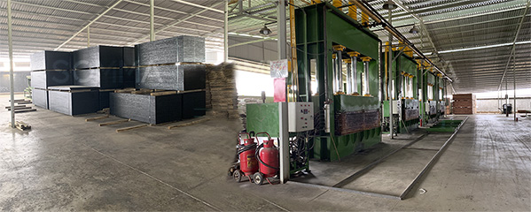 Nhà máy sản xuất ván ép ván coppha xây dựng