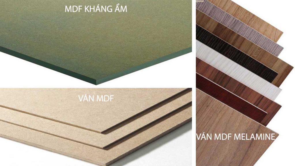 Ván MDF là gì? - Các loại MDF và những ứng dụng của gỗ MDF là gì?