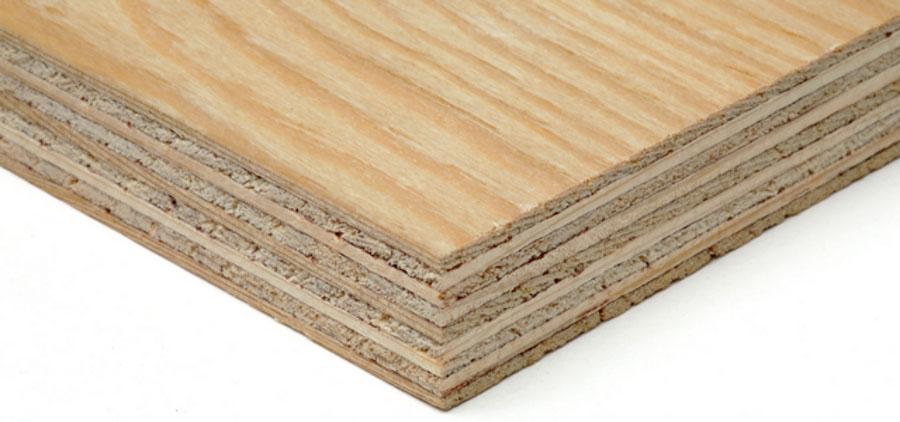 Ván ép gỗ mềm