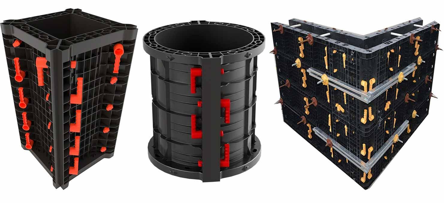 Các loại ván khuôn cốp pha sử dụng trong xây dựng bê tông